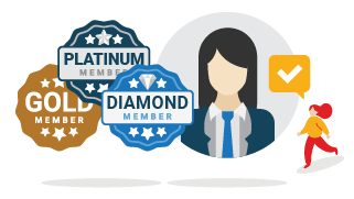 Badge GOLD Member dan Konsultasi 